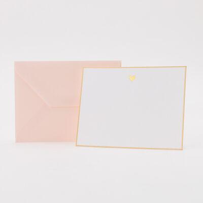 "SUGAR PAPER(シュガーペーパー)カードセット ""GOLD HEART"""