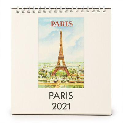 "CAVALLINI(カヴァリーニ)2021年デスクカレンダー ""PARIS"""