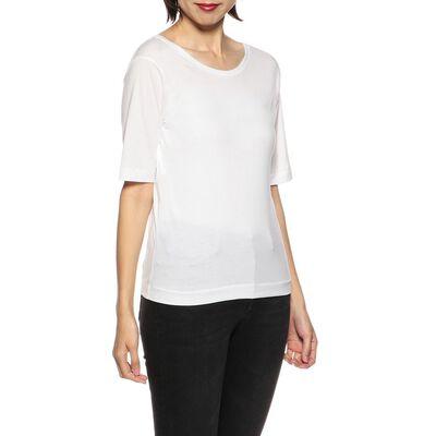 CINOH(チノ)バックカッティングTシャツ