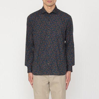 ORIAN(オリアン)フラワープリントシャツ