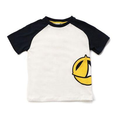 PETIT BATEAU(プチバトー)ロゴプリントTシャツ(6Y)