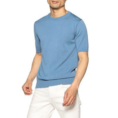 BARNEYS NEW YORK(バーニーズ ニューヨーク)海島綿ニットTシャツ