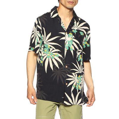 DEUS EX MACHINA(デウス エクス マキナ)ボタニカル柄レーヨンオープンカラーシャツ