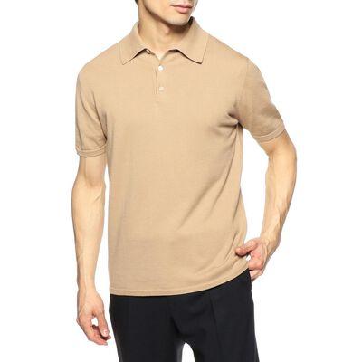 CRUCIANI(クルチアーニ)コットンニットポロシャツ