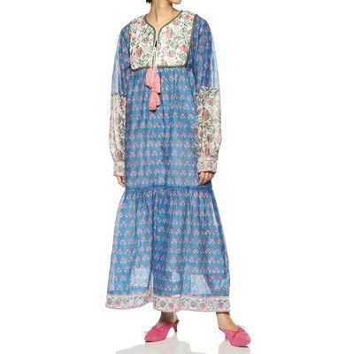 SZ(エスゼット)キルティングプリントドレス