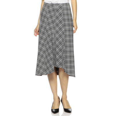 BARNEYS NEW YORK(バーニーズ ニューヨーク)ウォッシャブルチェック柄スカート