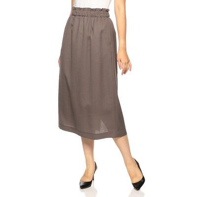 BARNEYS NEW YORK(バーニーズ ニューヨーク)ギャザーストレートスカート