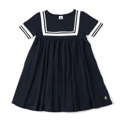 PETIT BATEAU(プチバトー)ドレス(6Y)