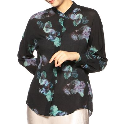 VINCE(ヴィンス)フラワープリントシャツ