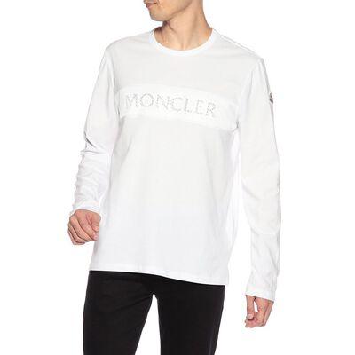 MONCLER(モンクレール)メッシュロゴロングスリーブカットソー