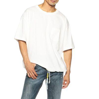 FACETASM(ファセッタズム)フロントドローコードTシャツ