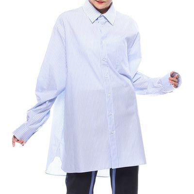 MAISON MARGIELA(メゾン マルジェラ)ストライプ柄ビッグシルエットシャツ