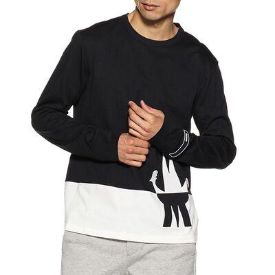 MONCLER(モンクレール)バイカラーロゴロングTシャツ
