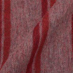 Wool Angora Scarf: Burgundy