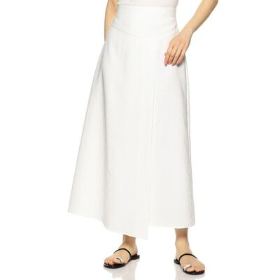 BARNEYS NEW YORK(バーニーズ ニューヨーク)ウォッシャブルAラインロングスカート