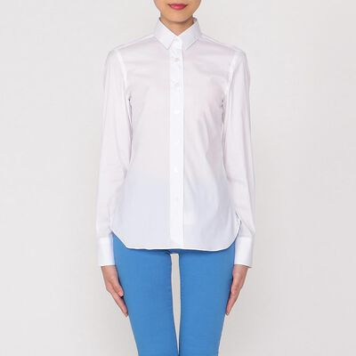 FINAMORE(フィナモレ)コットンシャツ
