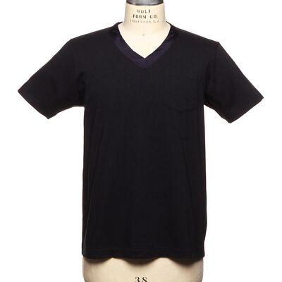 SACAI(サカイ)VネックキュプラTシャツ