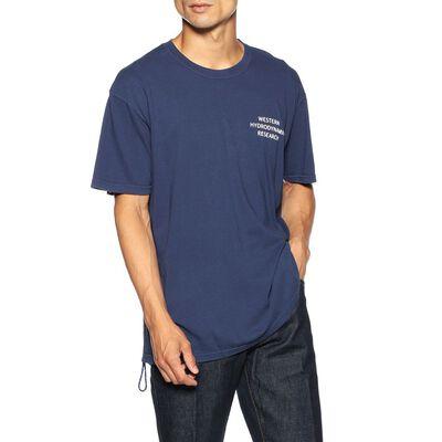 WESTERN HYDRODYNAMIC(ウエスタンハイドロダイナミックリサーチ)ロゴプリントTシャツ