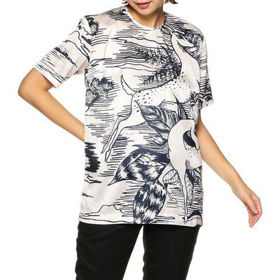 VICTORIA VICTORIA BECKHAM(ヴィクトリア ヴィクトリア ベッカム)プリントTシャツ