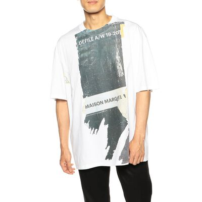 MAISON MARGIELA(メゾン マルジェラ)オーバーサイズプリントTシャツ