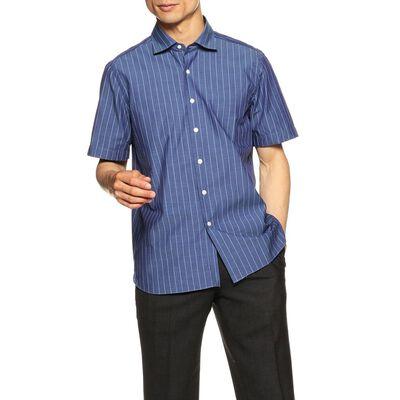 BARBA(バルバ)ストライプ柄半袖シャツ