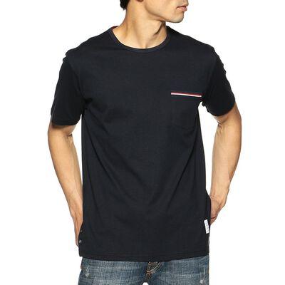 THOM BROWNE(トムブラウン)クルーネックポケットTシャツ