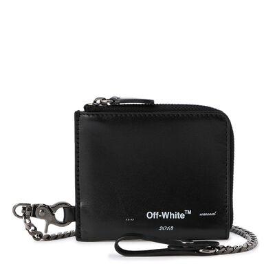 OFF-WHITE c/o VIRGIL ABLOH(オフ-ホワイト c/o ヴァージル アブロー)ロゴチェーンウォレット