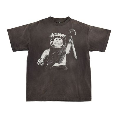 SAINT MXXXXXX(セント マイケル)ヴィンテージ加工プリントTシャツ