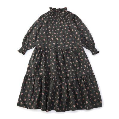 TOCOTO VINTAGE(トコトヴィンテージ)フラワープリントガールズドレス