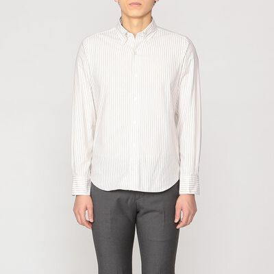 FINAMORE(フィナモレ)ボタンダウンシャツ