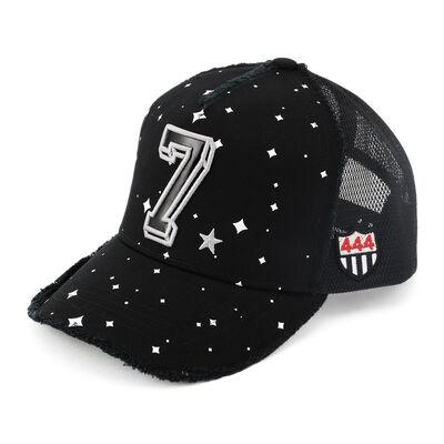"""YOSHINORI KOTAKE DESIGN(ヨシノリ コタケ デザイン)ベースボールキャップ """"SPACE PATENT 7 HOSHI"""""""