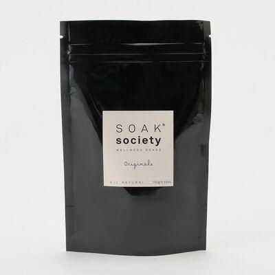 "SOAK SOCIETY(ソークソサエティ)バスソーク トラベルサイズ ""オリジナーレ"" 100g"