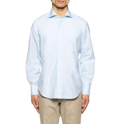 FINAMORE(フィナモレ)ジャカードシャツ