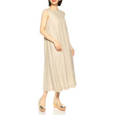 MAROBE(マローブ)バックスリットバイカラードレス