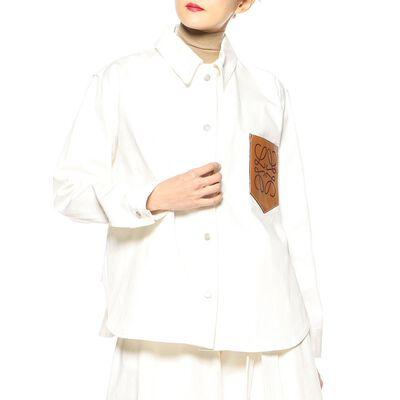 LOEWE(ロエベ)ホワイトデニムシャツ