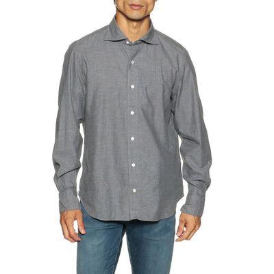 FINAMORE(フィナモレ)メランジネルシャツ