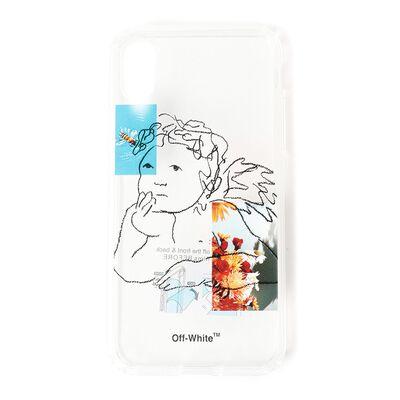 OFF-WHITE c/o VIRGIL ABLOH(オフ-ホワイト c/o ヴァージル アブロー)スマートフォンケース (iPhoneX対応)