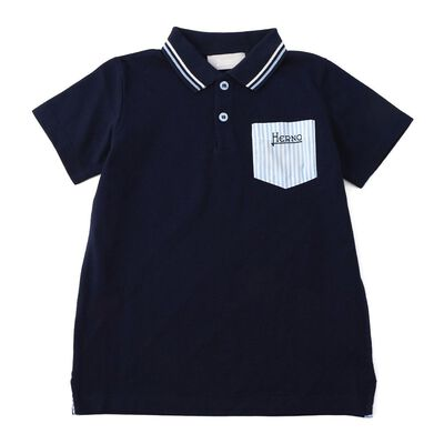 HERNO(ヘルノ)ボーイズポロシャツ