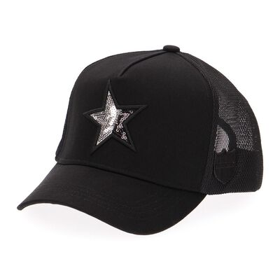 """YOSHINORI KOTAKE DESIGN(ヨシノリ コタケ デザイン)限定ベースボールキャップ """"BI-SPANGLE STAR"""""""
