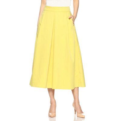 BARNEYS NEW YORK(バーニーズ ニューヨーク)ウォッシャブルボックスプリーツミディスカート