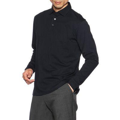 BARNEYS NEW YORK(バーニーズ ニューヨーク)ロングスリーブニットポロシャツ