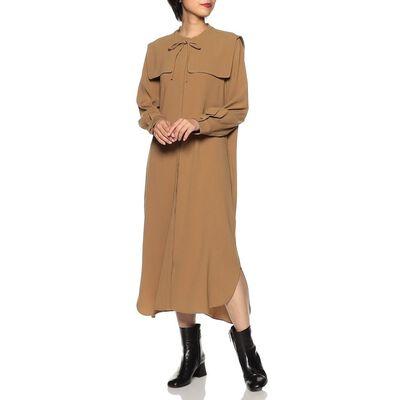 BARNEYS NEW YORK(バーニーズ ニューヨーク)ウォッシャブル2WAYカラーシャツドレス