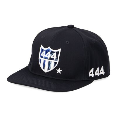 """YOSHINORI KOTAKE DESIGN(ヨシノリ コタケ デザイン)ベースボールキャップ """"444"""""""