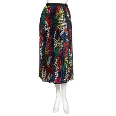 SACAI(サカイ)プリントプリーツロングスカート