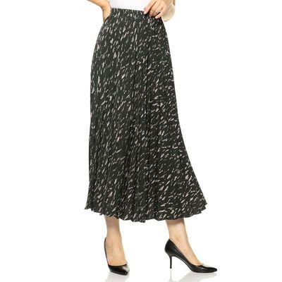 BARNEYS NEW YORK(バーニーズ ニューヨーク)プリントプリーツロングスカート