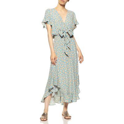 KIVARI(キバリ)フラワープリントドレス