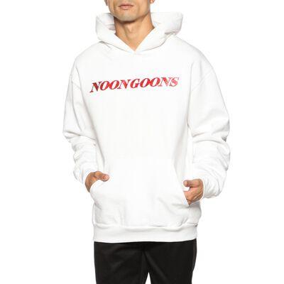 NOON GOONS(ヌーングーンズ)ロゴスエットフーデットプルオーバー