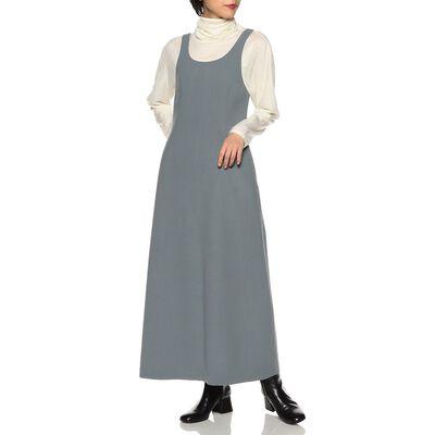 AURALEE(オーラリー)バッグスリットロングドレス
