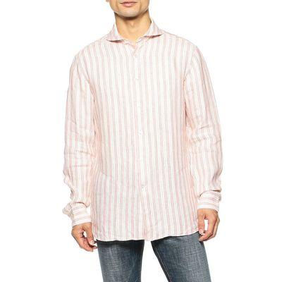 CATARISANO(カタリザーノ)限定ストライプ柄リネンシャツ