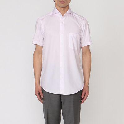 BARNEYS NEW YORK(バーニーズ ニューヨーク)グラフチェック柄半袖シャツ